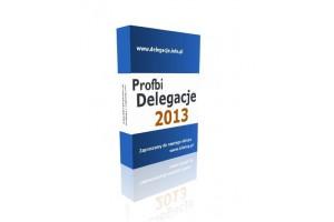 Profbi Delegacje 2013 Krajowe i Zagraniczne (licencja 1 rok) 1 stanowisko