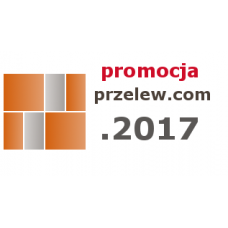Przelew.com 2017 (licencja) 1 Stanowisko promocja 20 sztuk po obniżonej cenie
