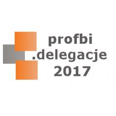Profbi Delegacje 2017 Krajowe i Zagraniczne (licencja 1 rok) 1 stanowisko.