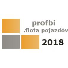 Profbi Flota Pojazdów  2018  (licencja 1 rok)